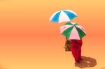 Africa umbrellas