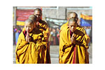 Bhutan (Monks in two rows)