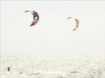 White kite surf #4