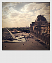 The Louvre - Polariod (right)