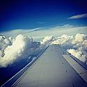 Blue Sky & Clouds - Flight