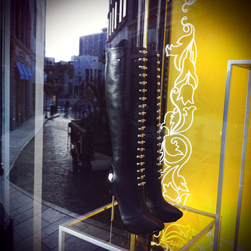 Versace Boots - Alley, Beverly Hills