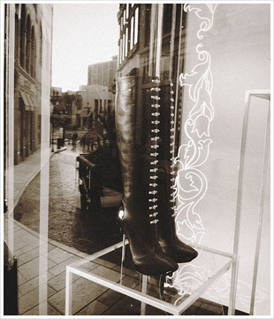 Versace Boots - Alley, Beverly Hills 2