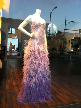 Badgley Mischka Window, Beverly Hills